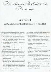 Wettbewerbs Ausschreibung Düsseldorf