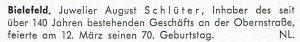 Informationen aus Bielefeld
