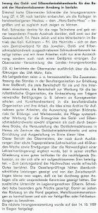 Innungsnachrichten aus Arnsberg